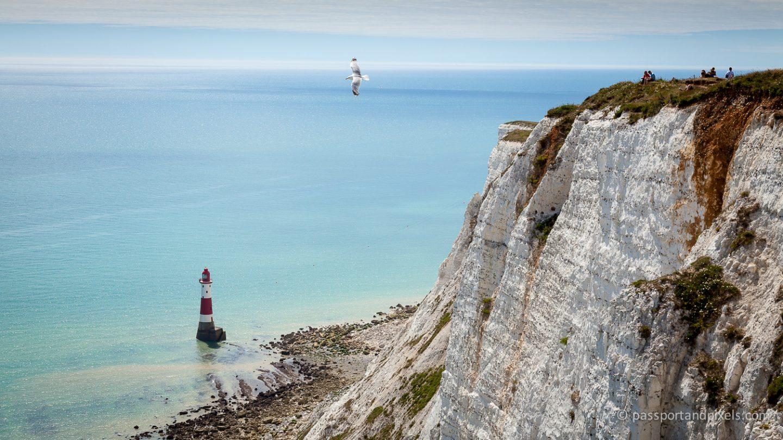 The white cliffs at Beachy Head