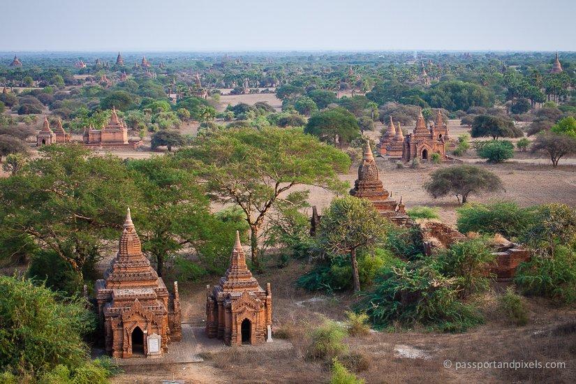 Beautiful Bagan Pagodas