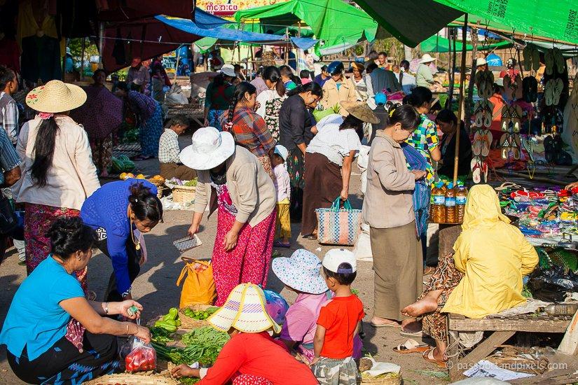 Central Market, Kalaw, Myanmar