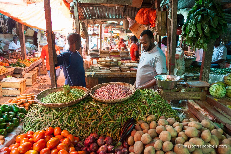 Photographing Markets - Stonetown Market, Zanzibar
