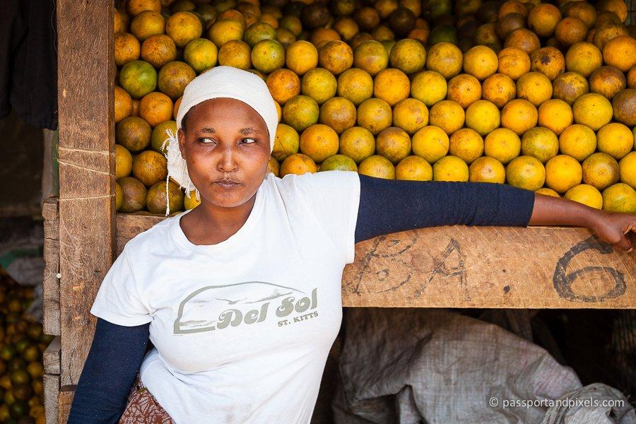 Kilombero Market in Arusha, Tanzania
