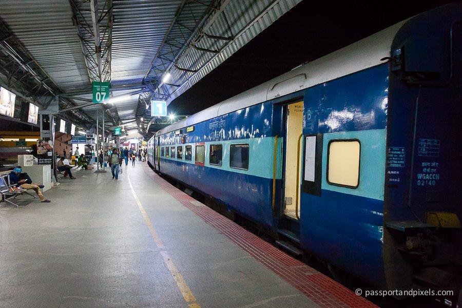 Night train India