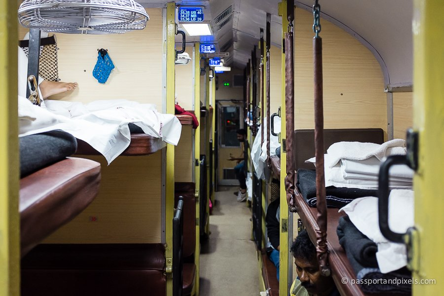 Inside the Indian Night train