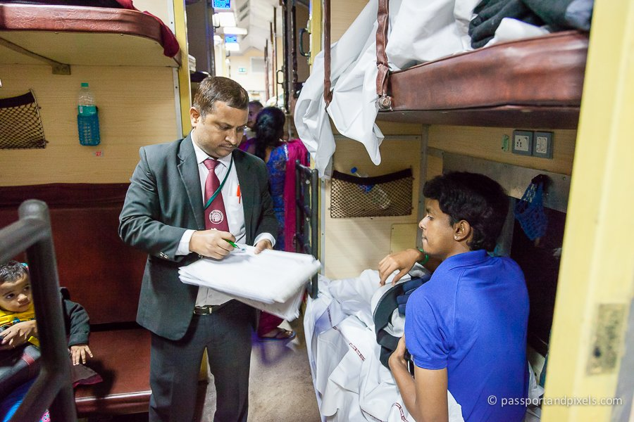 Indian Sleeper Train
