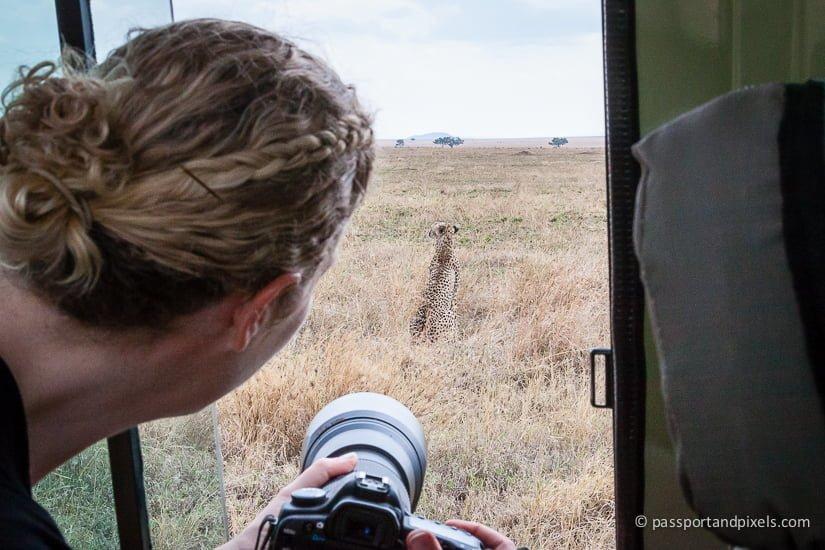 Behind the scenes on safari in tanzania