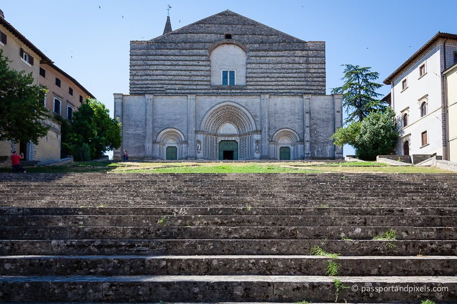 San Fortunato church, Todi, Umbria