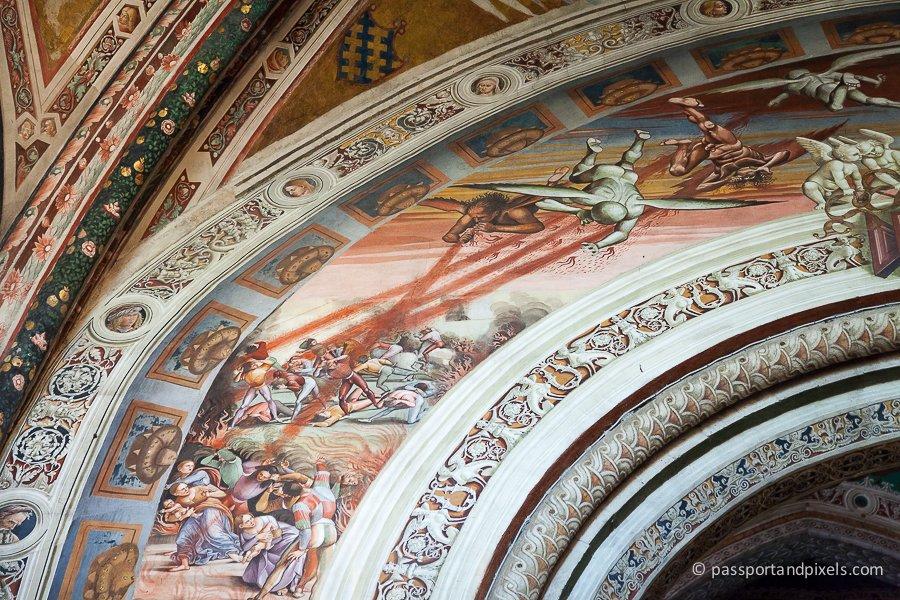 Frescoes in Orvieto Duomo
