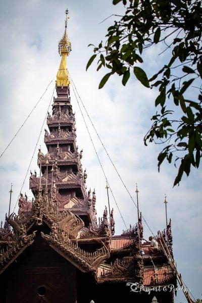 Shwe Inn Bin monastery, Mandalay