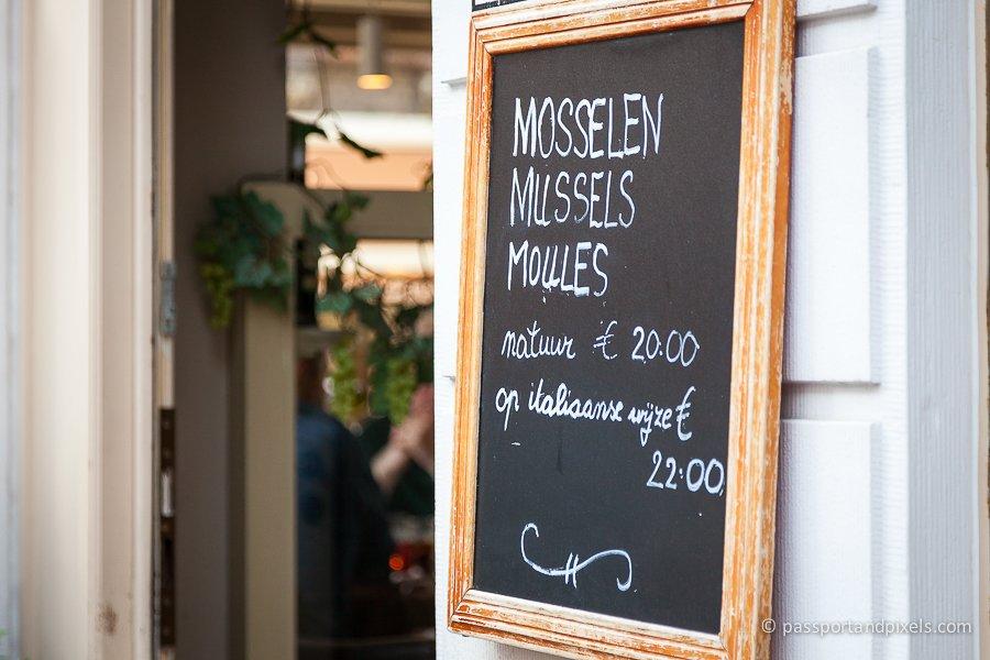 Bruges mussels