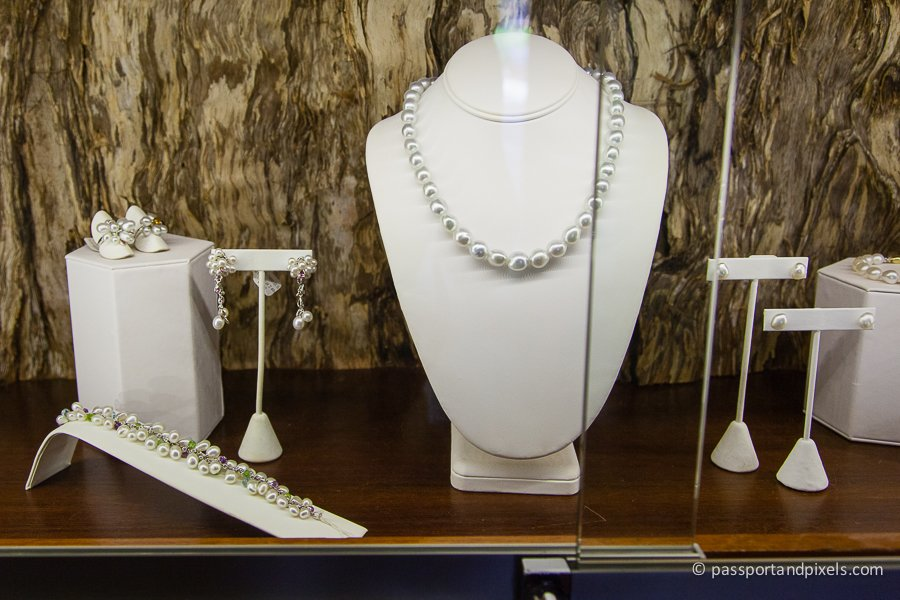 Beautiful pearl jewellery is highly sought after and expensive