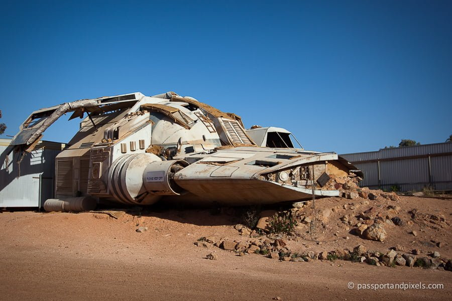 Mad max spacecraft in Coober Pedy