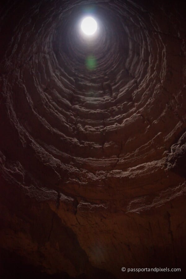 Opal mine shaft in Coober Pedy