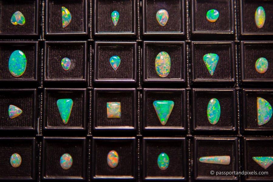 Opals in Coober Pedy