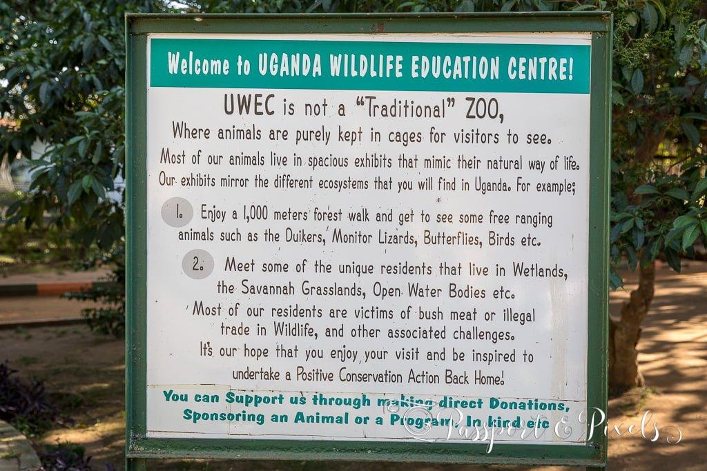 UWEC signpost
