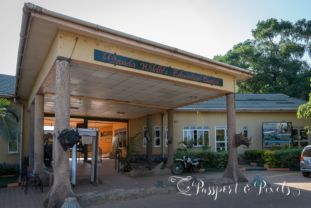 Entebbe Zoo main entrance