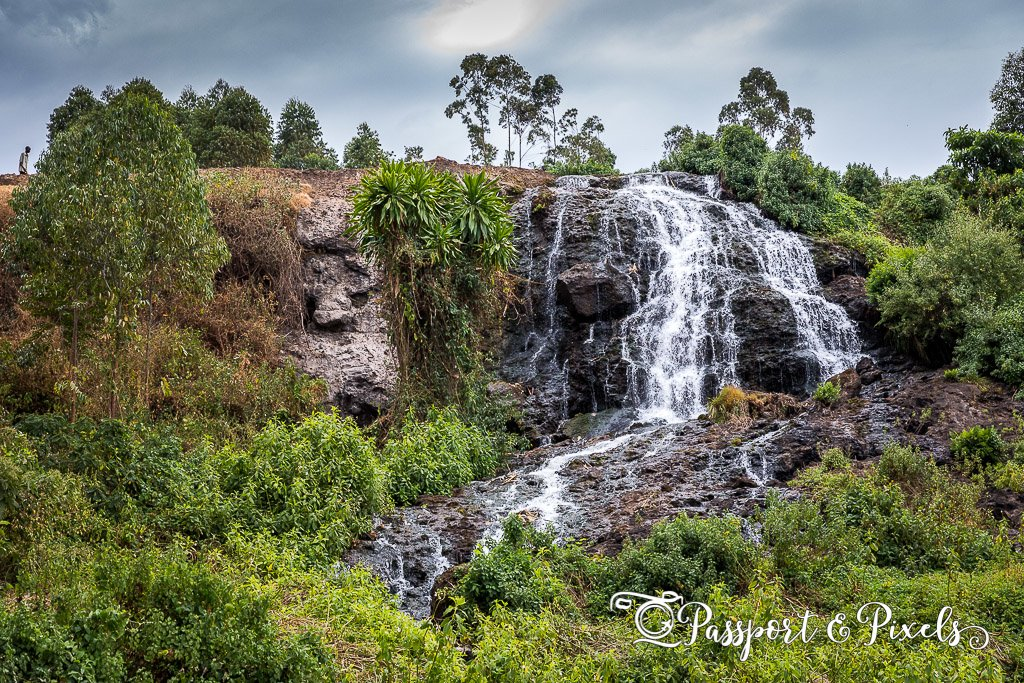 Upper waterfall, Sipi Falls