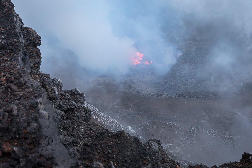 Nyiragongo crater