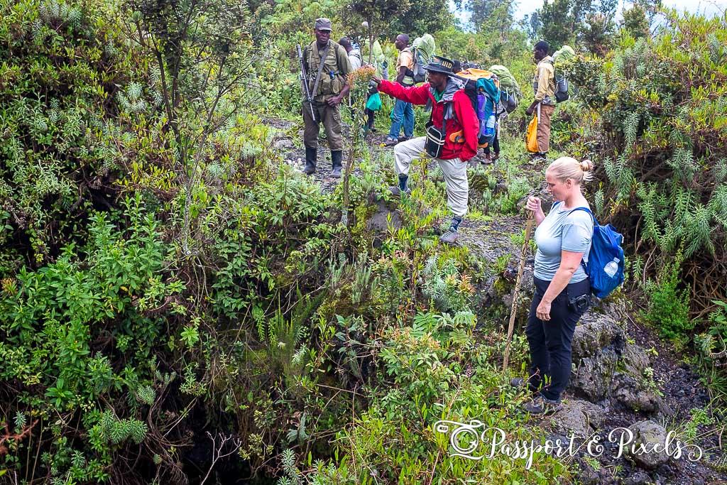 Climbing Nyiragongo