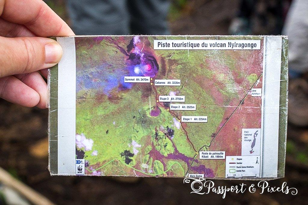 Nyiragongo map
