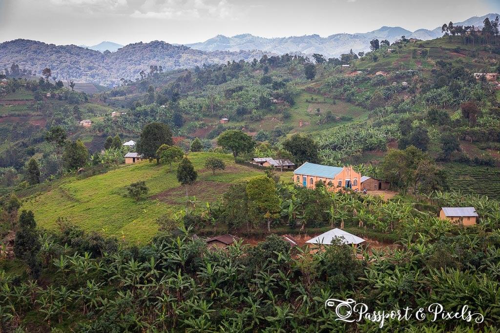 Western Uganda countryside