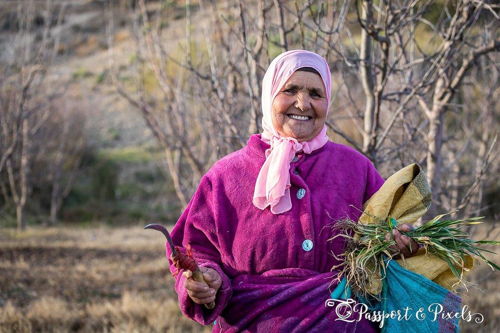 Moroccan woman, Midelt Morocco