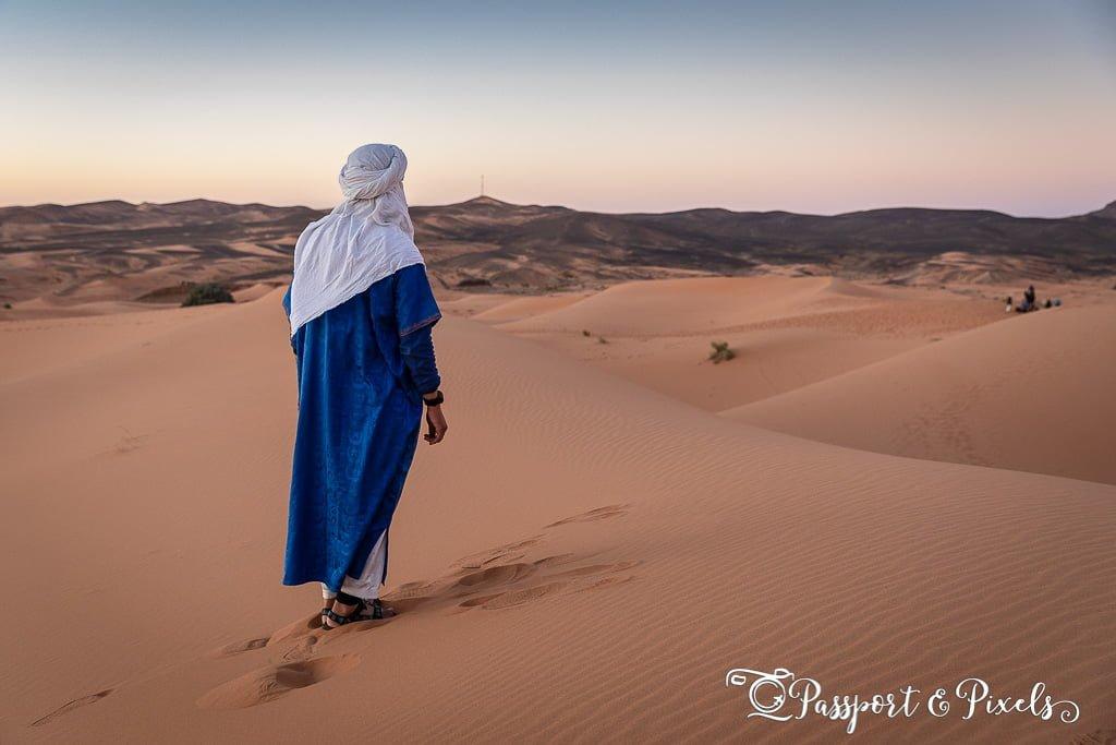 Sahara desert Bedouin