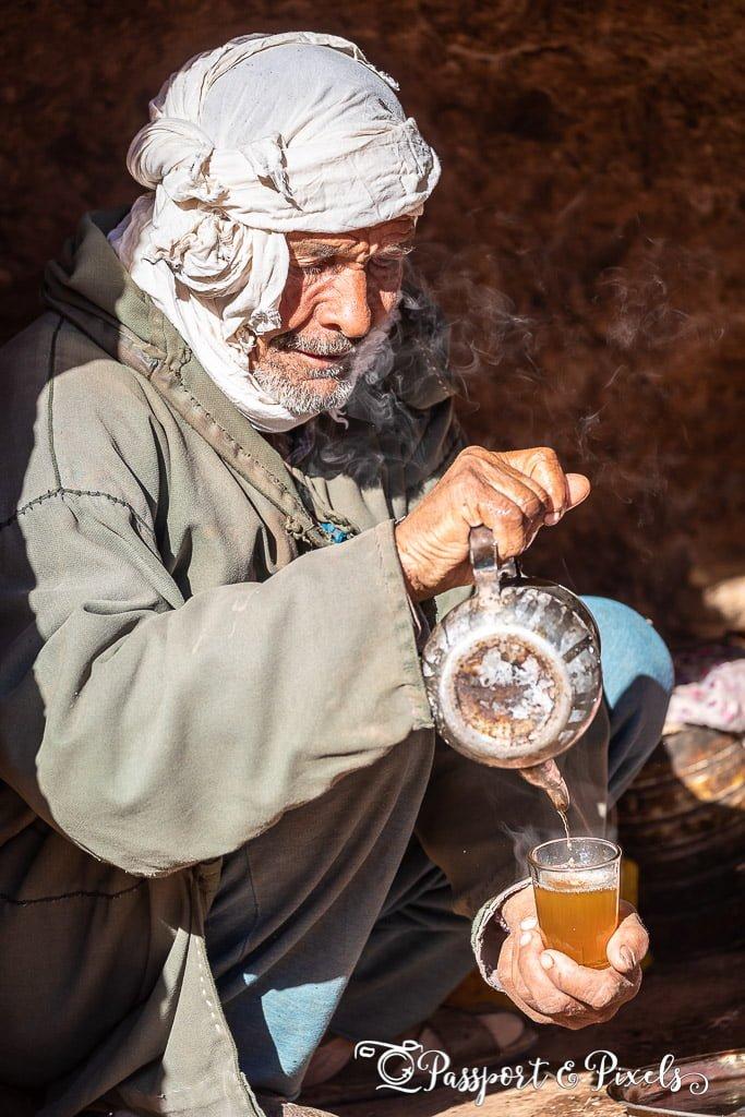 Berber man, Todra Gorge, Morocco