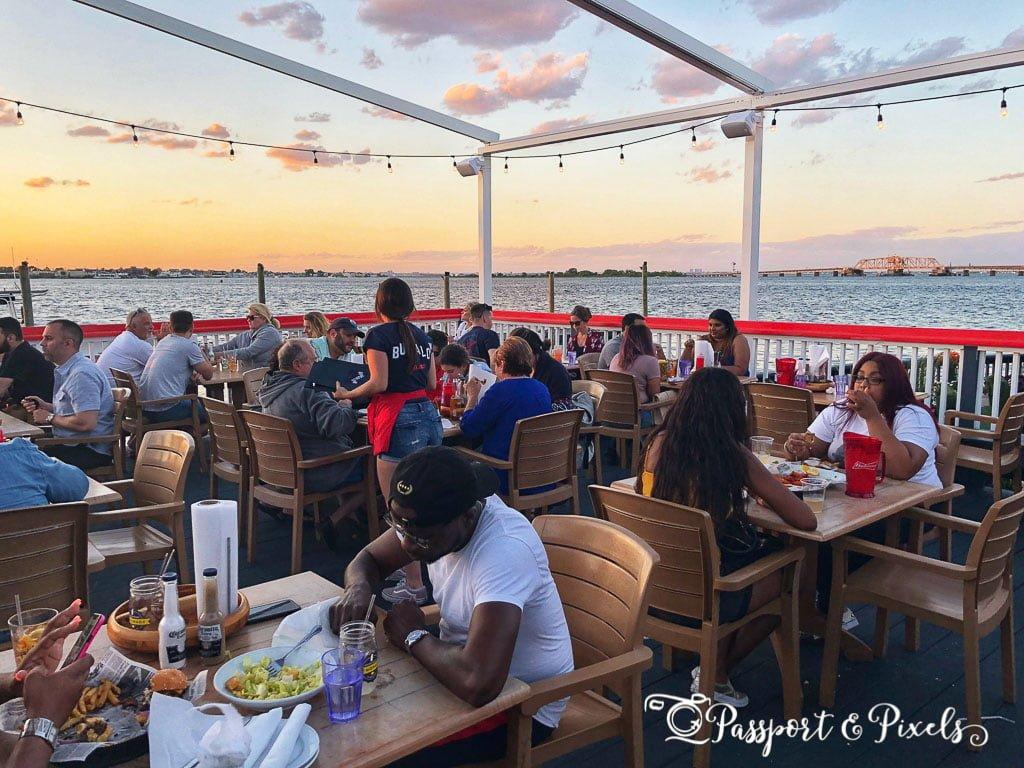 Bungalow restaurant in the Rockaways