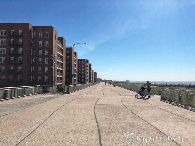 Rockaways beachfront promenade