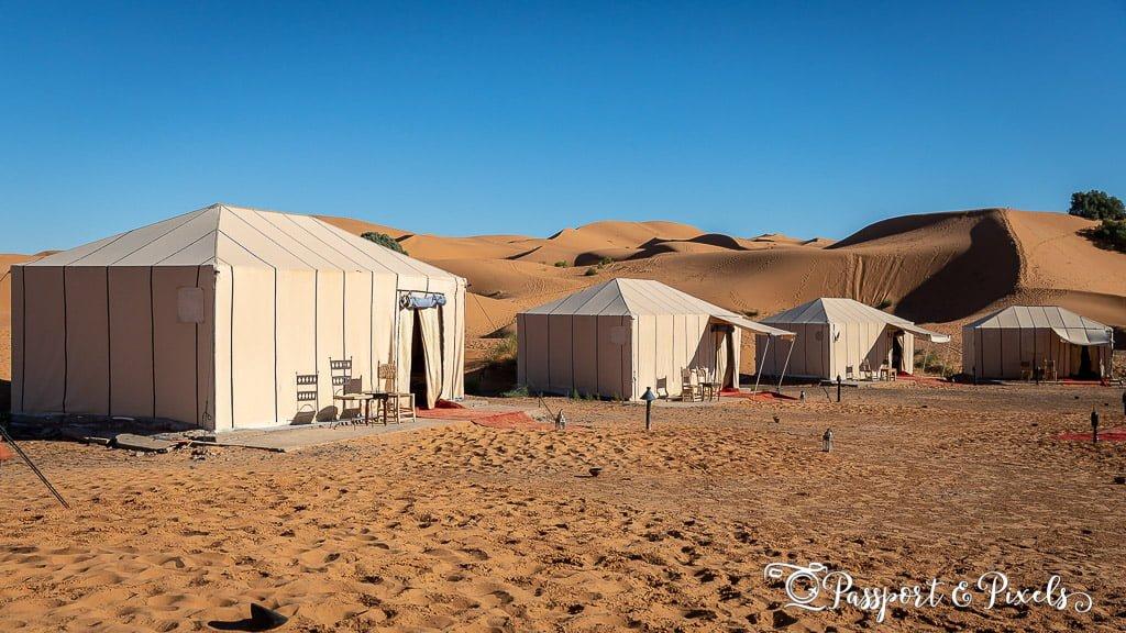 Glamping Morocco: Merzouga Luxury Desert Camp