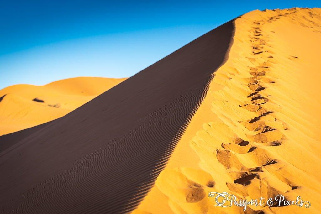 Sahara Desert sand dune