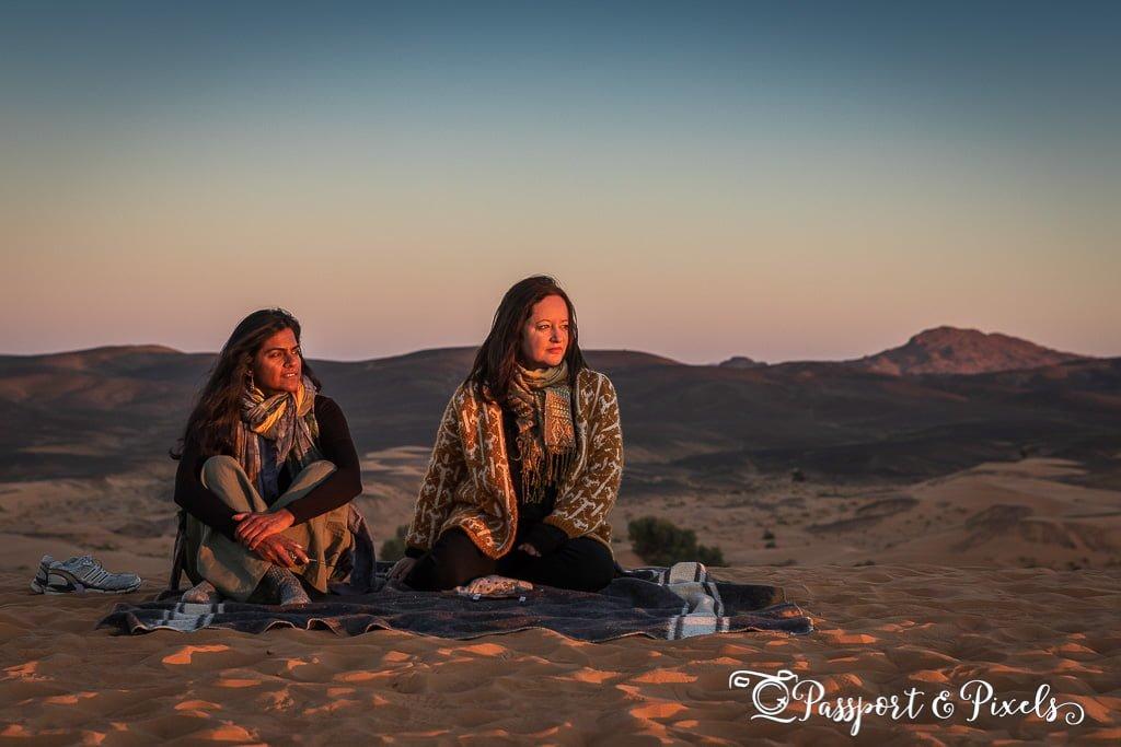 Sahara Desert sunrise