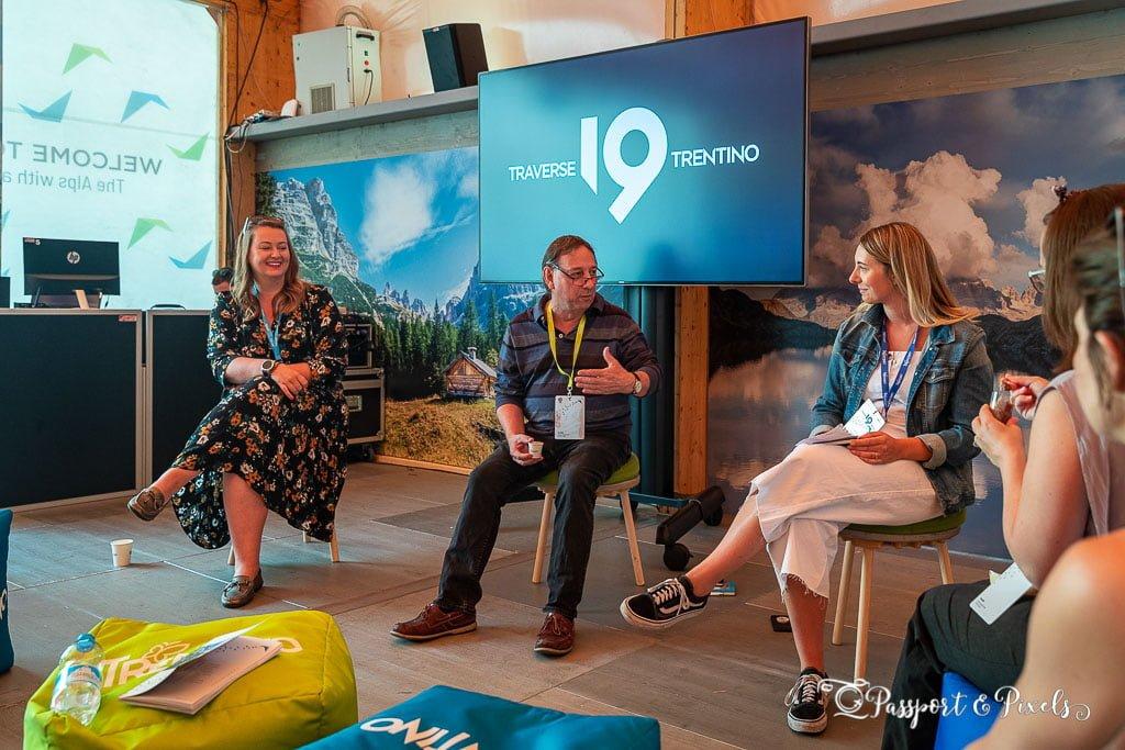 Traverse 19 bloggers conference, Trento