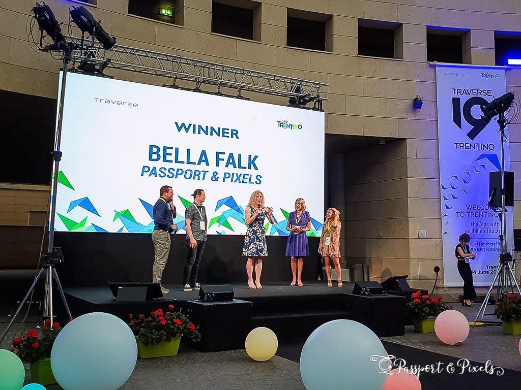 Winning a blogging award