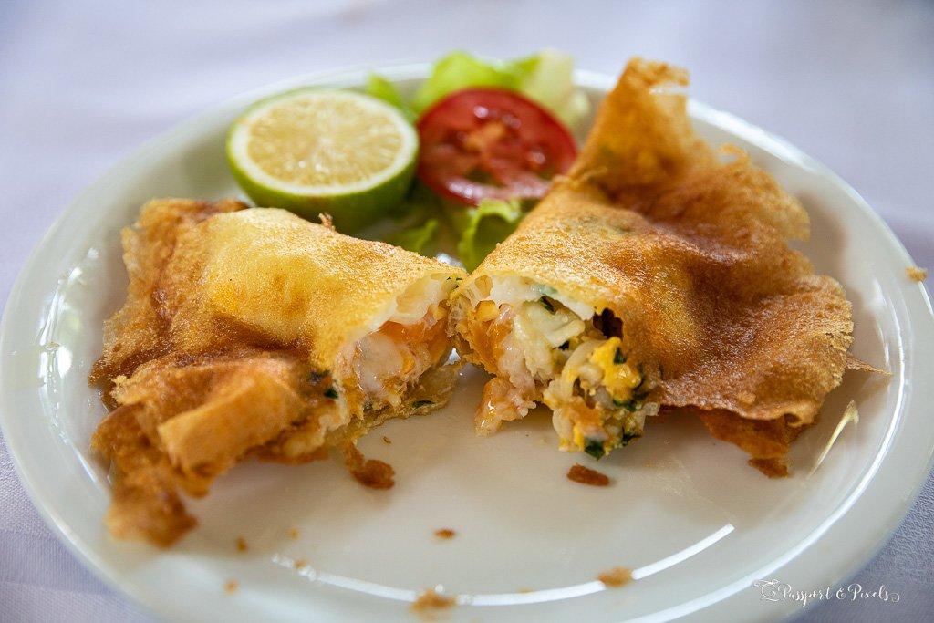 Brik, a Tunisian dish