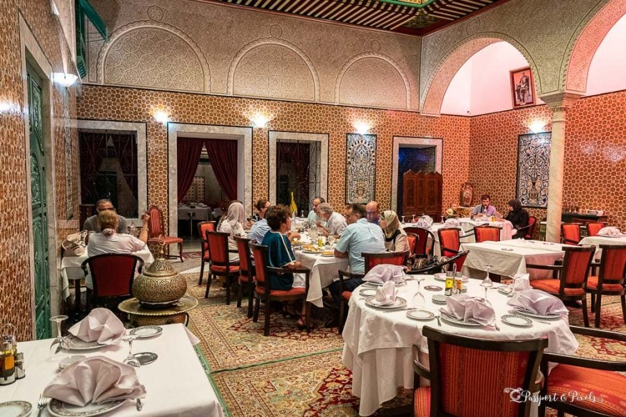 Dar Belhadj restaurant, Tunis