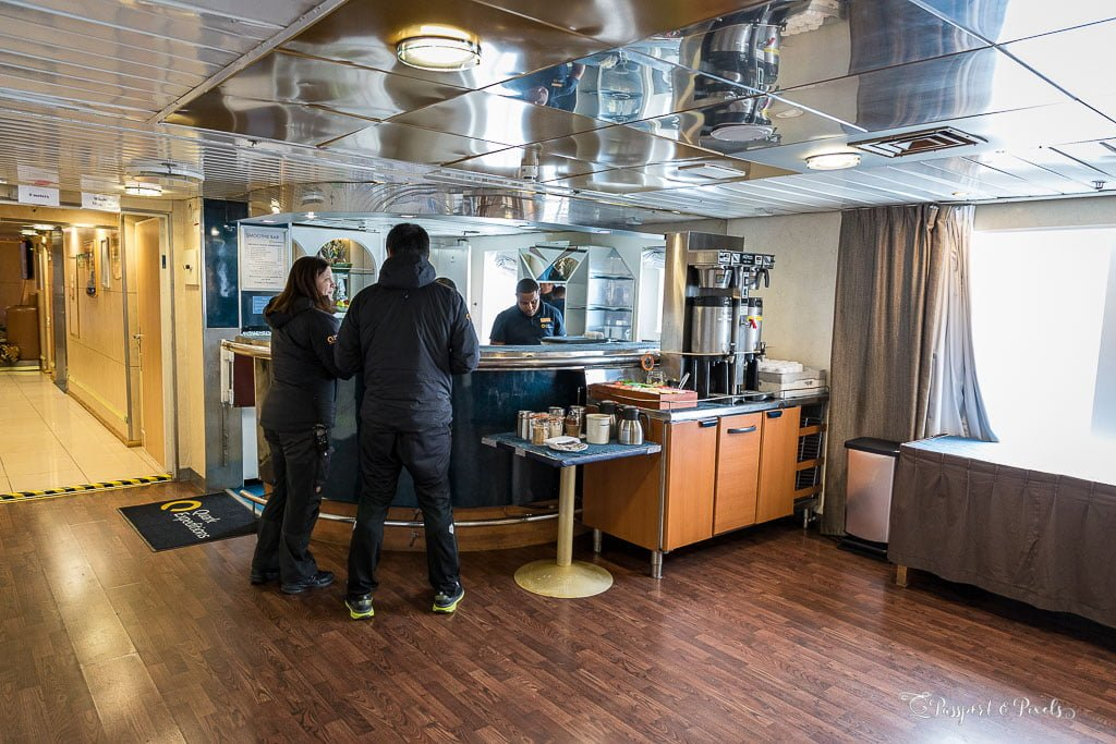 Our expedition ship had a tea bar so I didn't need tea bags on my Antarctica packing list
