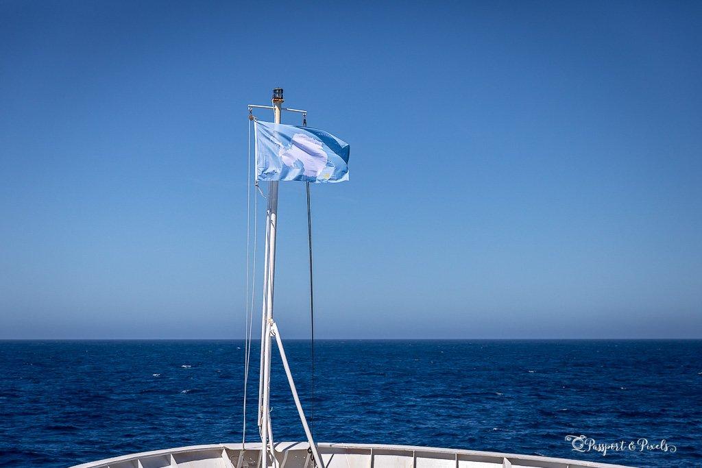 Crossing the Drake Passage to Antarctica