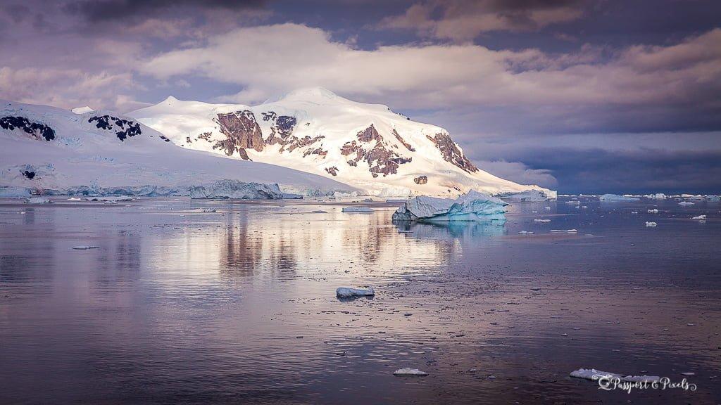 Antarctica landscape photography