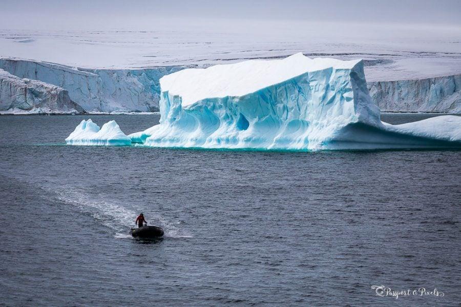 Zodiac driver, Antarctica