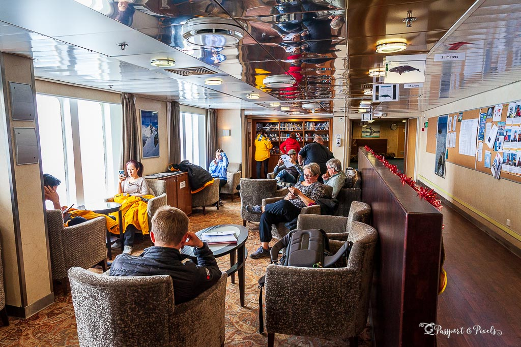 South Georgia and Antarctica cruise ship interior