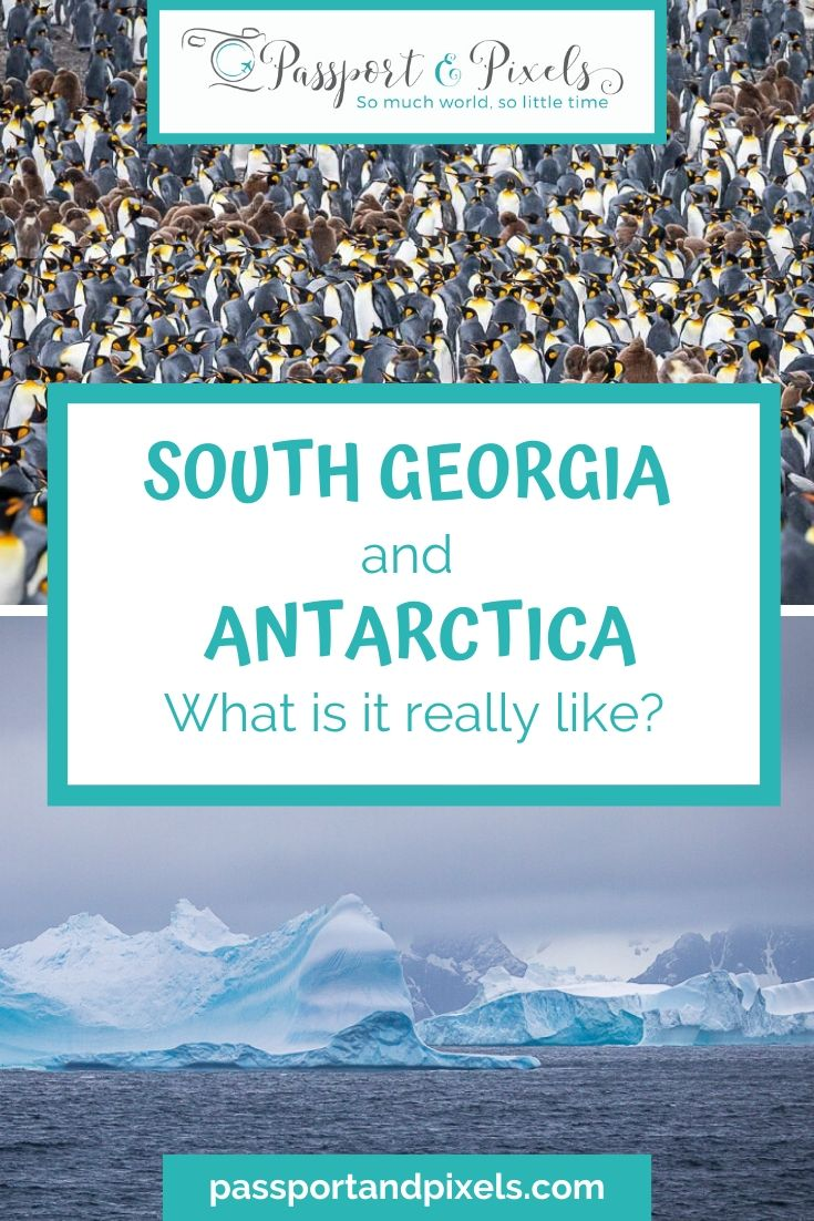 South Georgia and Antarctica Pinterest Pin