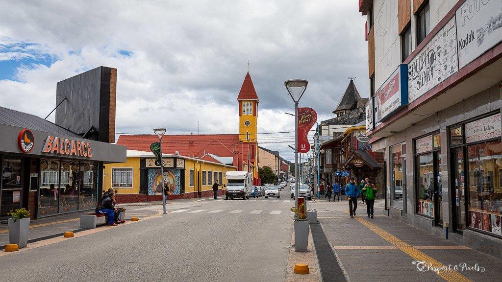 Ushuaia main street