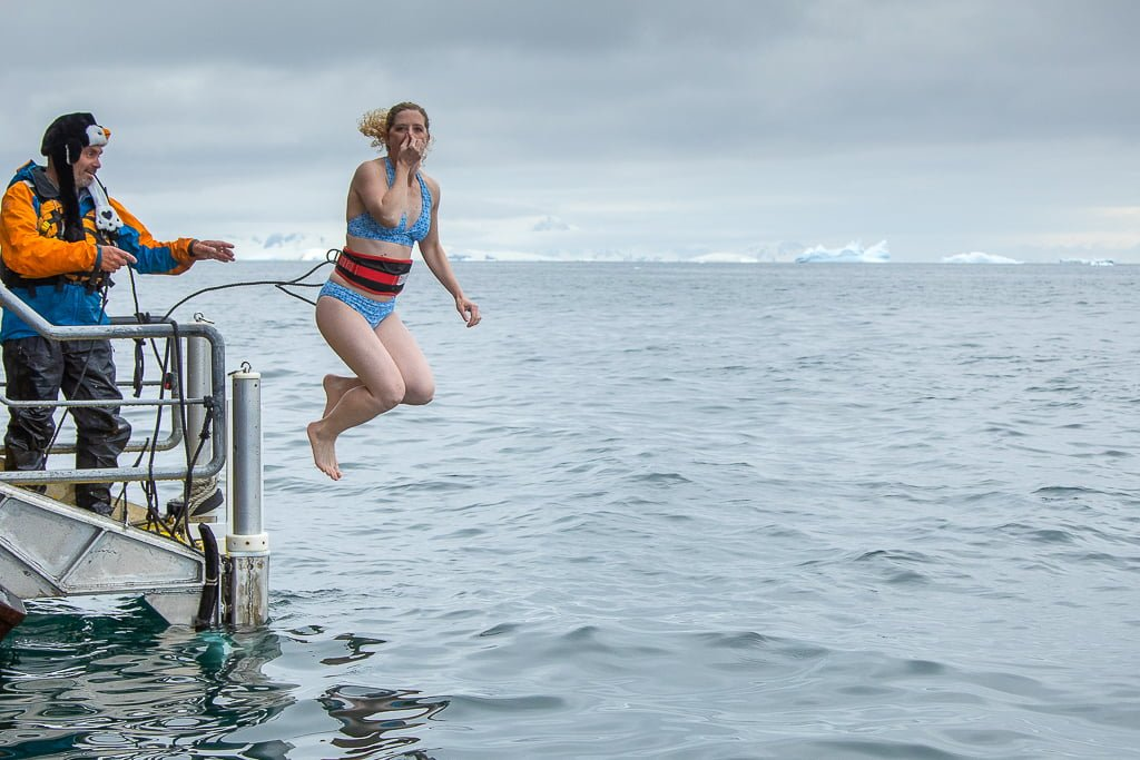 Jumping in for the Polar Plunge