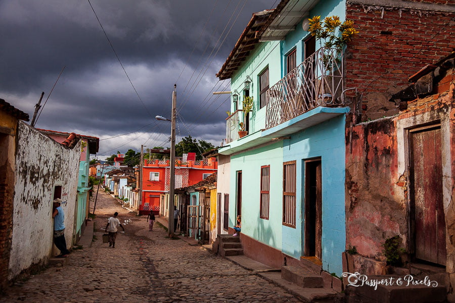 Travel photography tip for beginners: get lost on purpose. Local street, Trinidad, Cuba
