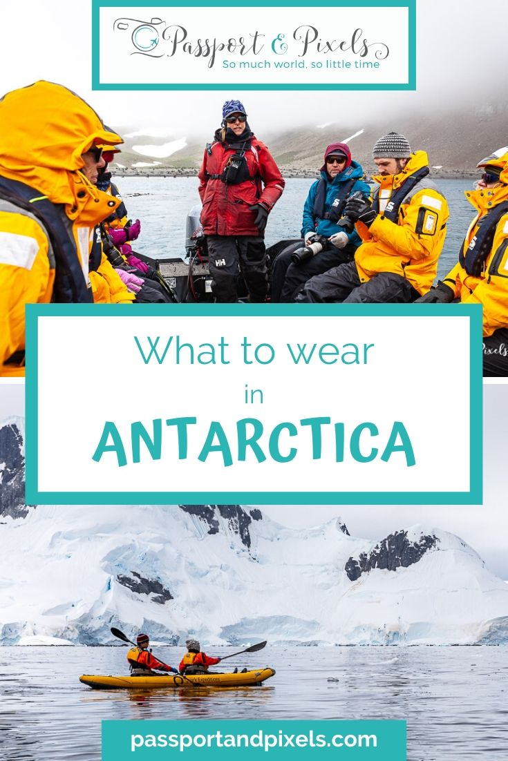 What to pack for South Georgia and Antarctica: warm and waterproof clothes