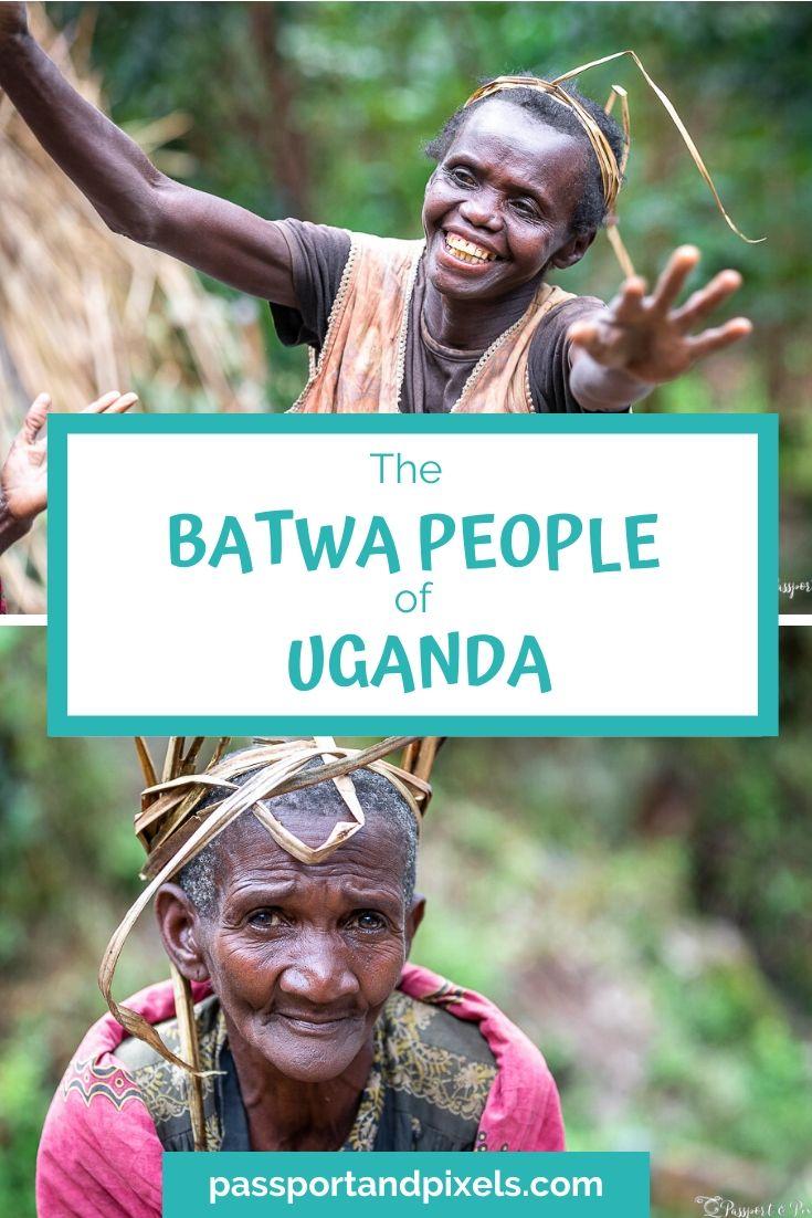 Batwa tribe pinterest pin
