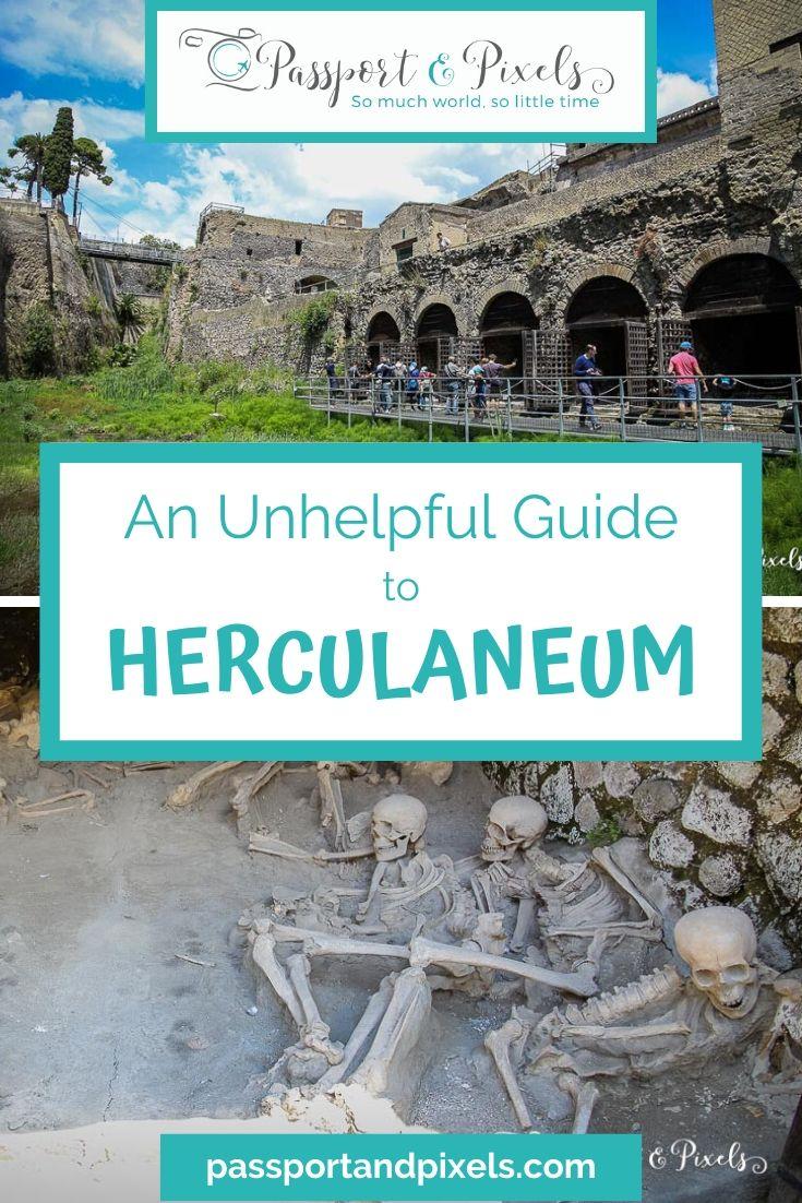 Herculaneum visit Pinterest pin
