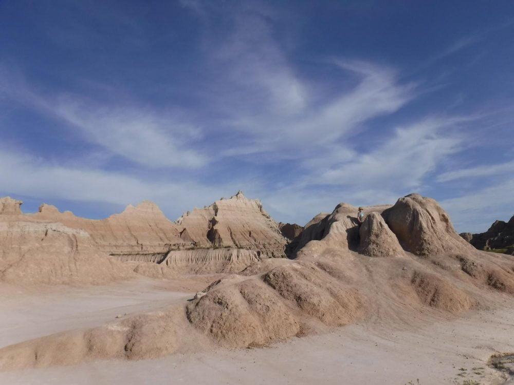 Badlands National Park in South Dakota. Taken on the Fujifilm XP140