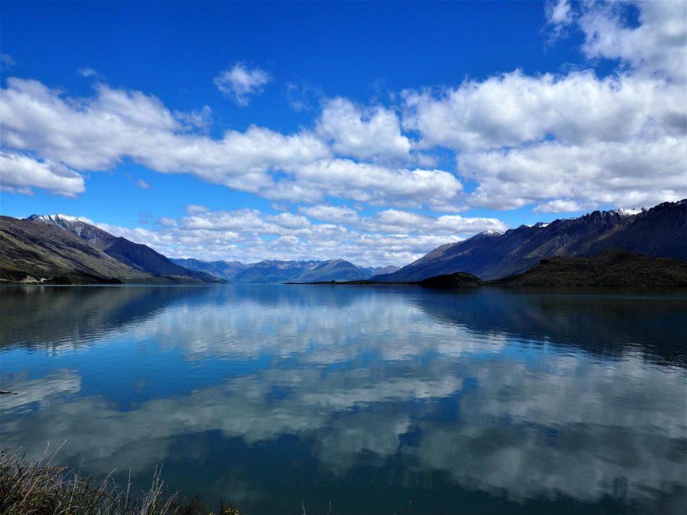 Lake Wakatipu in Queenstown NZ. Taken on the Olympus EM10